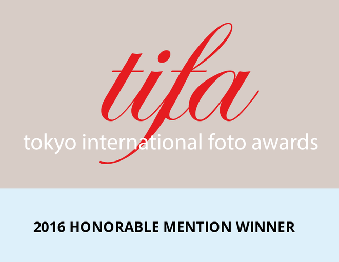 Honorable Mention in the Tokio International Photo Awards