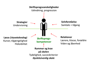 Lektiologisk grundmodel i Line Leths version
