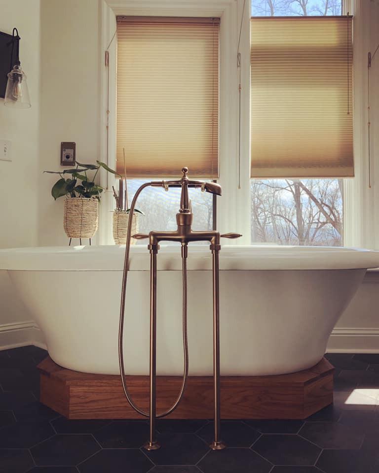 Wood Tub base