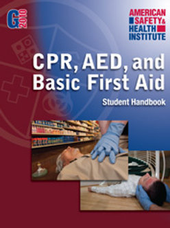 ASHI CPR, AED & FIRST AID COMBO
