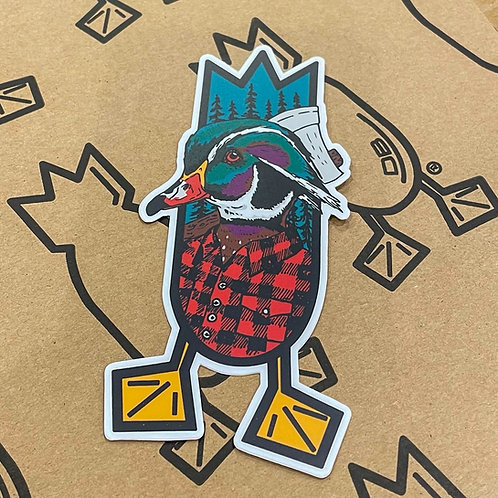 Decal, THE LUMBERJACK, 5 inches