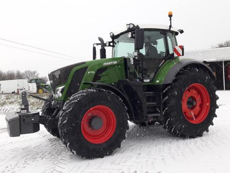 Livraison sous la neige !