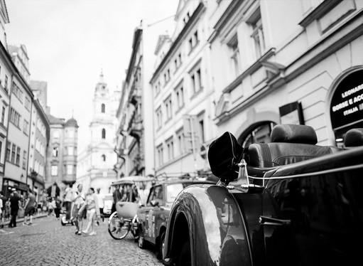 Prague City Streets