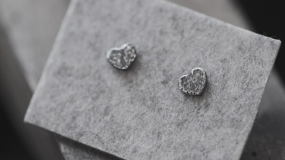 oorbellen - geoxideerd zilver