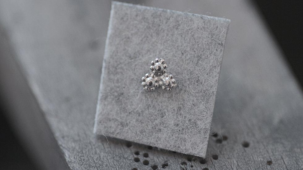 oorbel - zilver