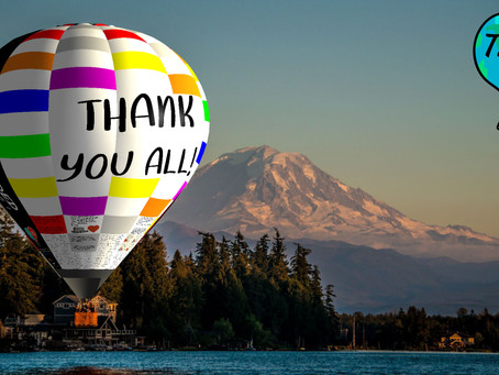 We Did It... Now Let's Fill The Balloon with Thanks!