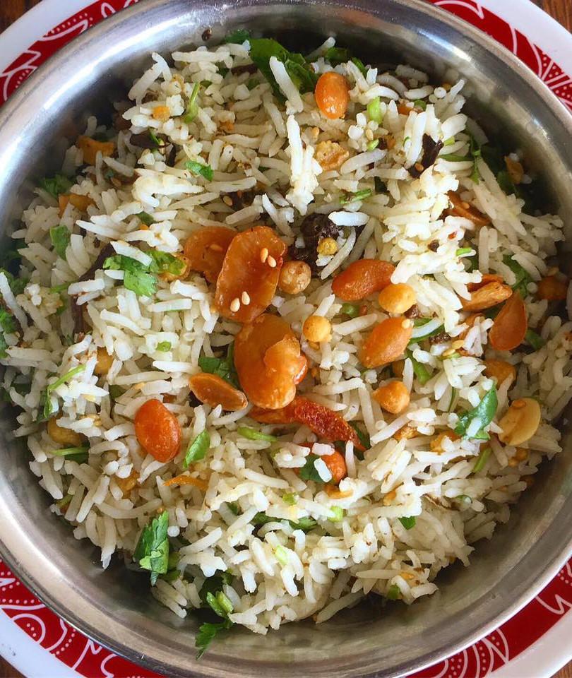 Burmese Laphet Rice