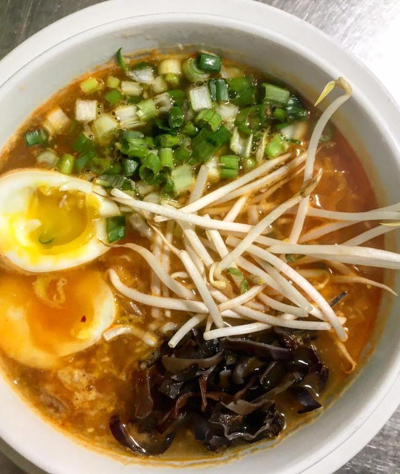 Kimchi Ramen Soup