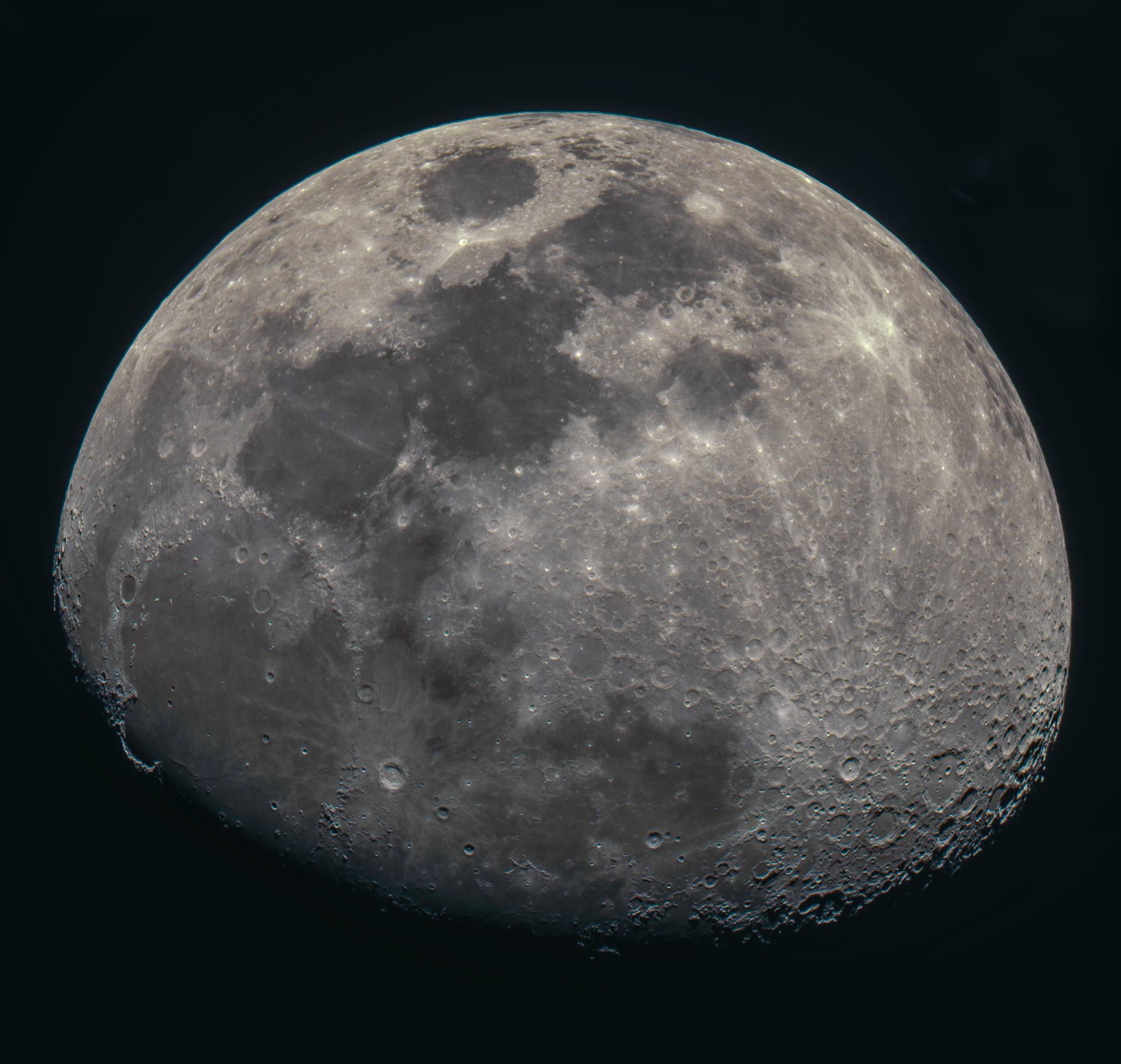 A Moon Mosaic
