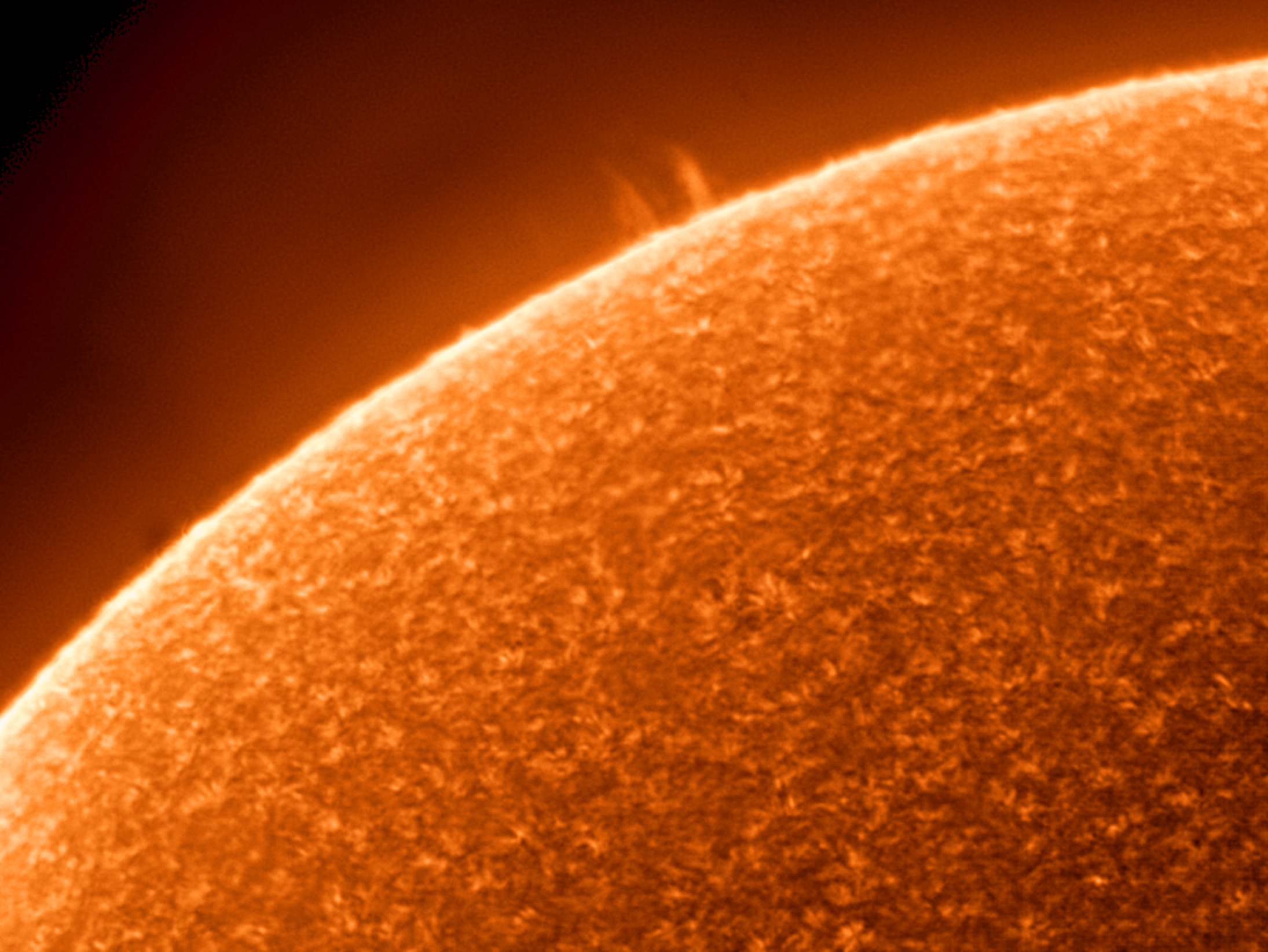 The Sun in H-alpha light