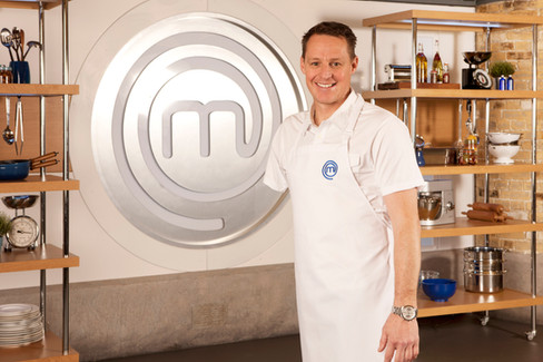 Receiving the call for Celebrity MasterChef