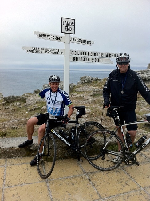 Danny's Deloitte Ride Across Britain Diary - Days 8 and 9