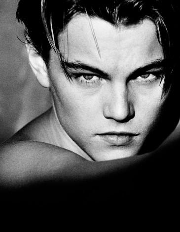 """Greg Gorman """"Leonardo DiCaprio, LA 1994"""""""