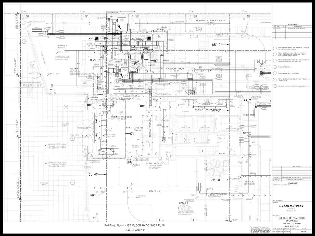 DUCT WORK SHOP DRAWING