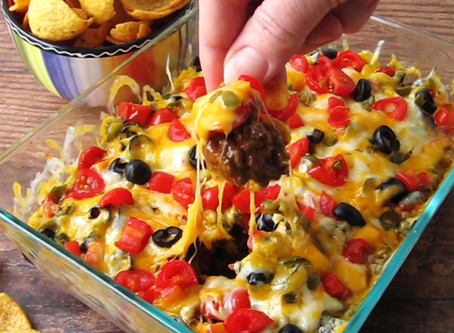 Fresh Hot Taco Dip for your Next Party in the New Year!