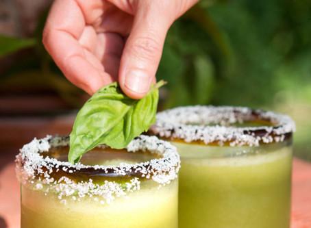SUmmer COOler - Melon Basil Margarita