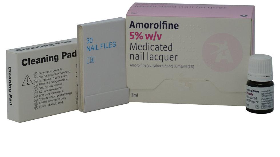 Nail Fungal Treatment Loceryl Curanail 5% Fungus Lacquer 3ml