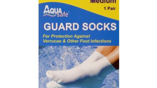 AQUA SAFE Guard Socks Medium 1 Pair
