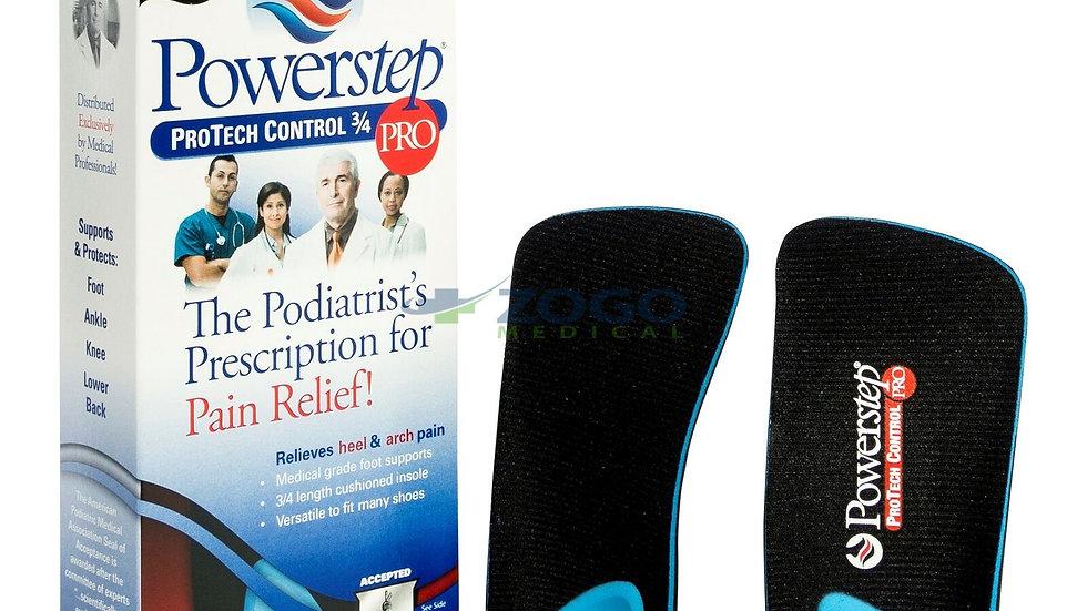 Powerstep ProTech Control 3/4 Length Shoe Orthotics