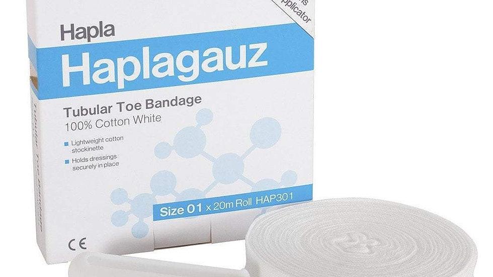 HAPLAGAUZ BANDAGES - Tubular Little Toe Bandage