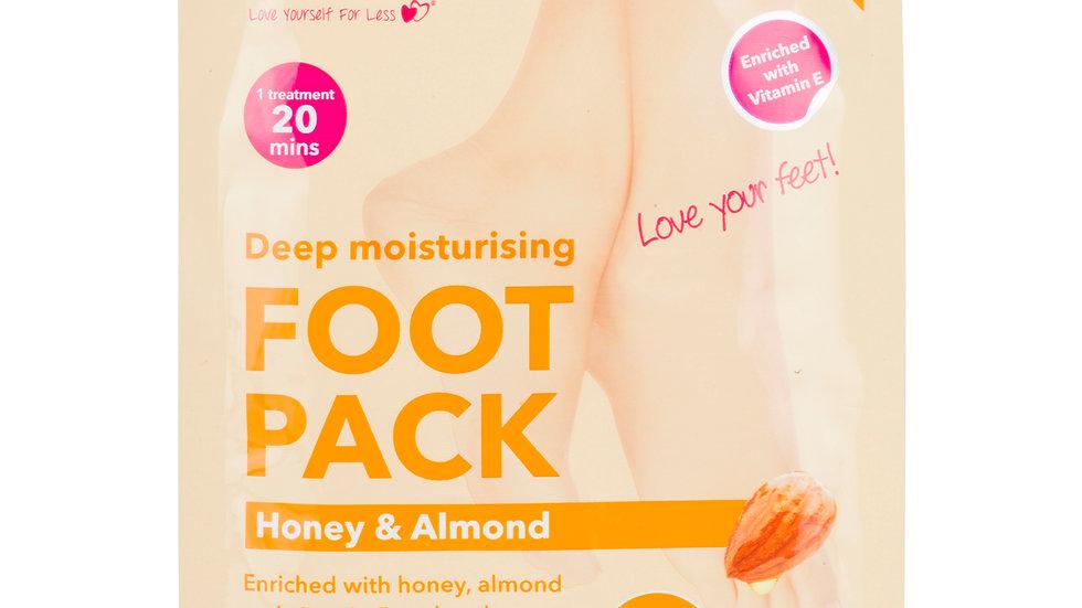 Derma V10 Deep Moisturising Foot Pack