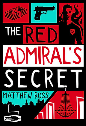 THE RED ADMIRAL'S SECRET - HARDBACK