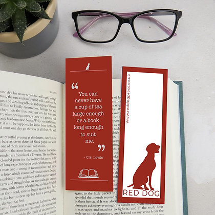 Quote Bookmark — 5 to choose from