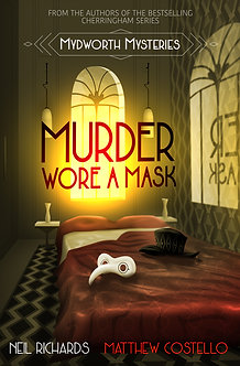 MURDER WORE A MASK (Large Print Version)