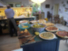 Pottery course in Cornwall includes locally sourced meals.