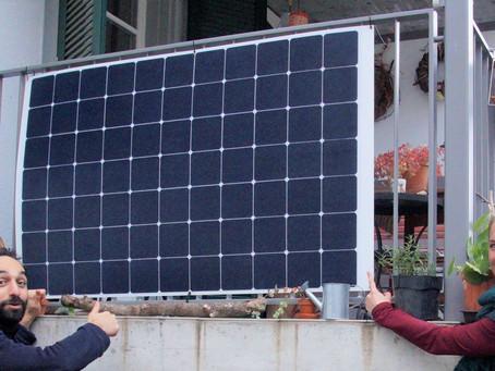 Les balcons solaires – C'est facile et efficace