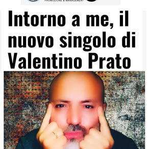 """""""La fabbrica del suono"""": Valentino Prato e il suo brano """"Intorno a me""""."""