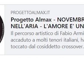 Manuela Villa e Fabio Armiliato su AlmaxMagazine.