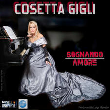 """COSETTA GIGLI - """" SOGNANDO AMORE """" (EP)"""