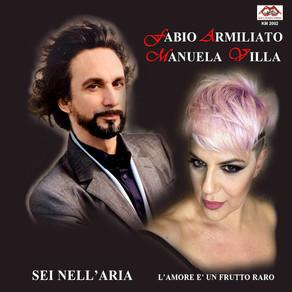 """Articolo: """"Sei nell'aria: il brano di Manuela Villa con il tenore Fabio Armilato""""."""