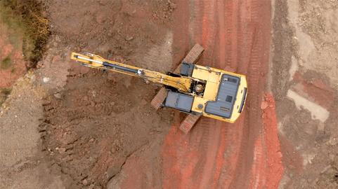 ALFA Construction Equipment - Aerial Film Shooting (2019)