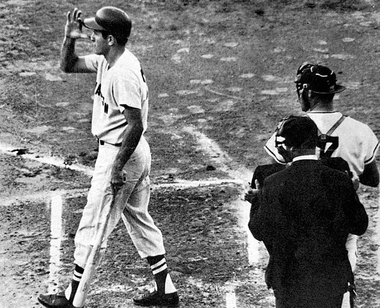 Ejected For Distracting Ted Williams