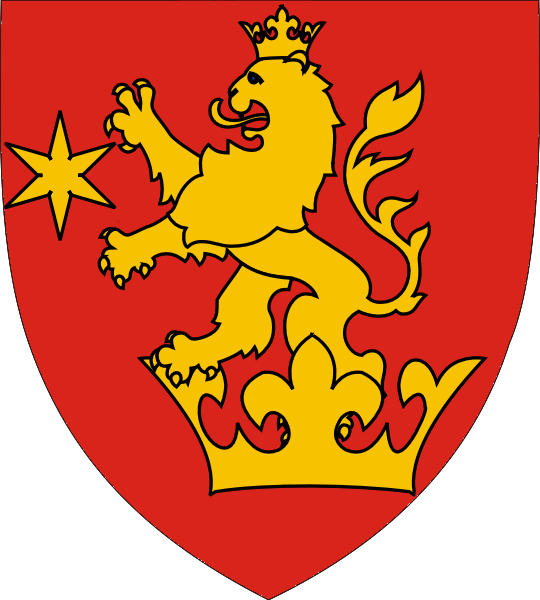 Oltenia's coat of arms from the 1870