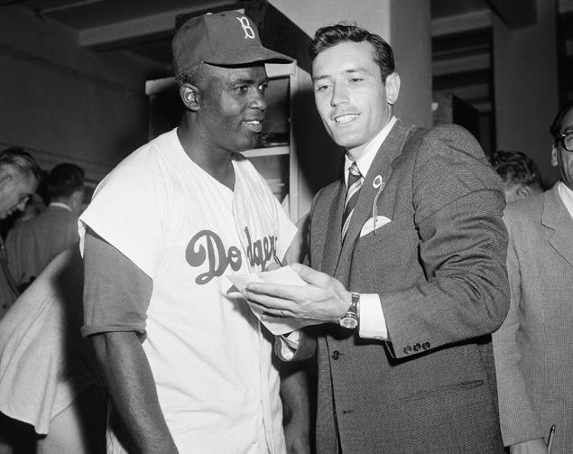 Interviewing Jackie Robinson