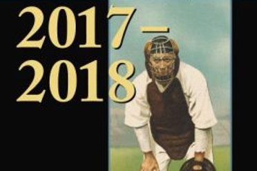 The Cooperstown Symposium on Baseball and American Culture, 2017-2018