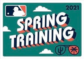 EBSM MLB Spring Training 2021 Green Logo
