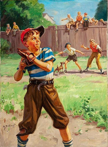 The Sandlot by Hy Hintermeister
