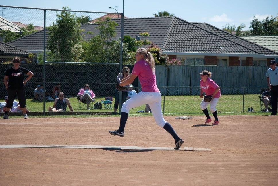 Veronika Peckova in action. Photo: Joe Richards