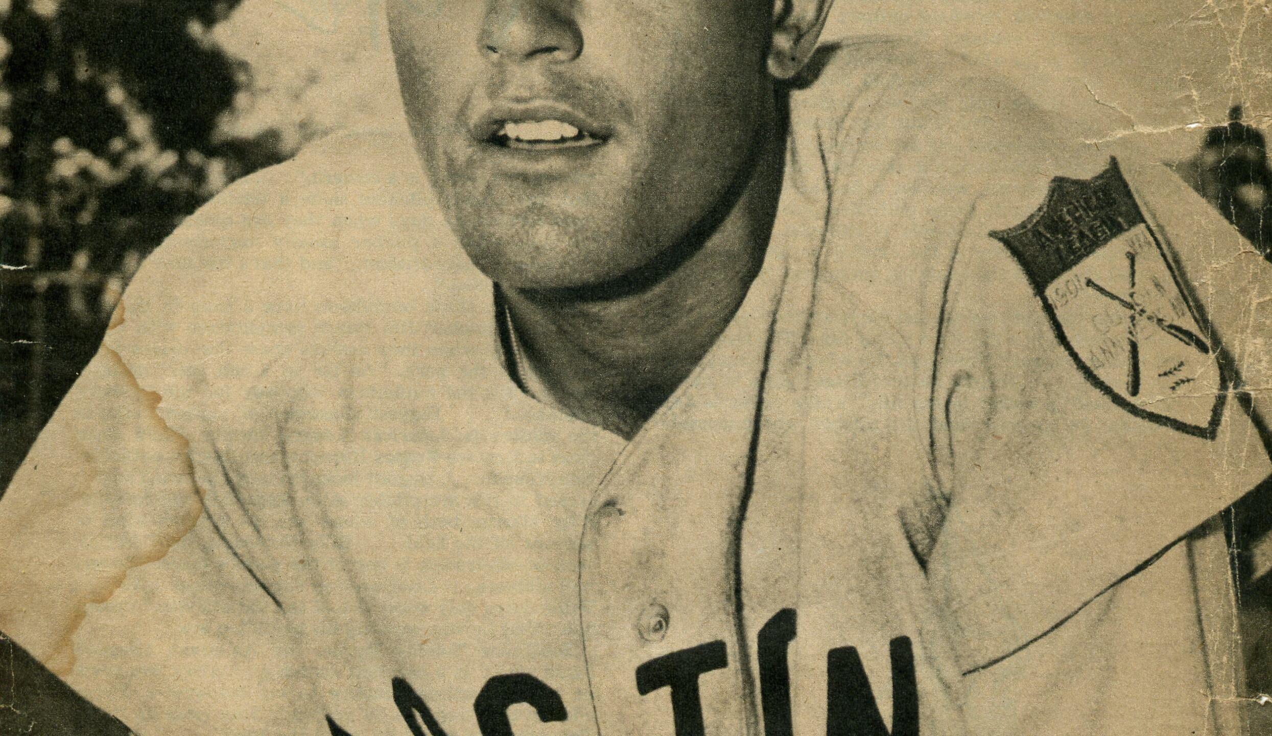 Piersall Returns To Boston In 1953