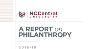 NCCU Donor Report