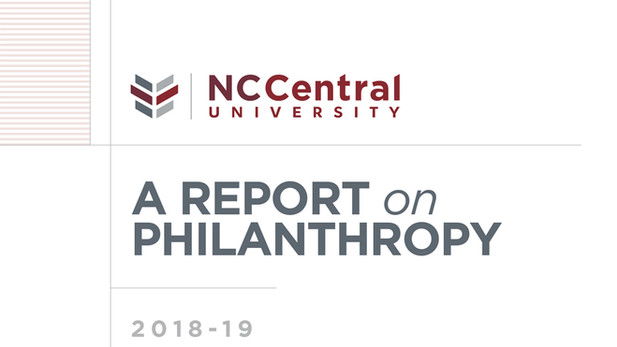 NCCU Donor Report