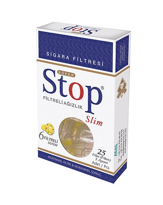 Stop Slim Cigarette Filters 25 Pcs.