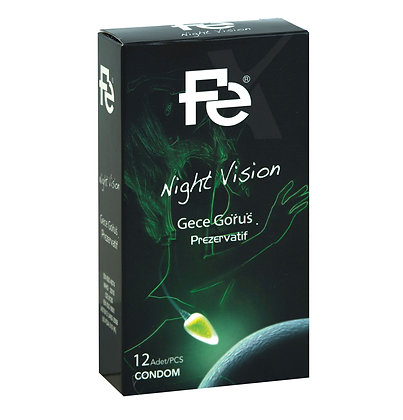 FE Prezervatif Night Vision 12'li
