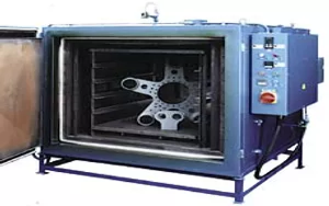 Heat Treatment Oven  For Turkish Air Force