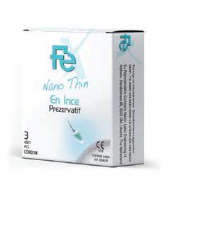 FEX Prezervatif Nano Thin 3'lü