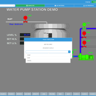 inSCADA Example Project WTPS Page